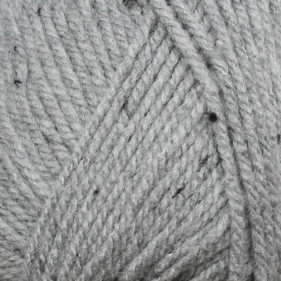 Příze Bravo 97% acryl 3% viscosal 50g/133m 20ks/bal. 08376 šedý tweed (cena / klubko)