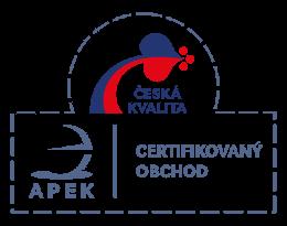 Certifikát APEK
