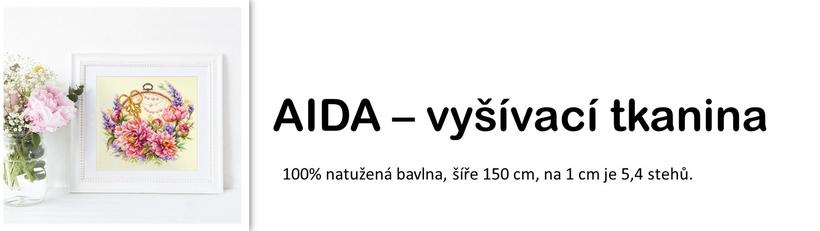 Aida - vyšívací tkanina