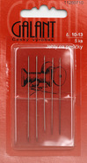 Jehly na perličky assort (č.10-13)  5ks/karta
