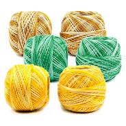 Příze Perlovka ombré 100% bavlna 10g/85m 10ks/bal.