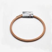 Kroužek na vyšívání prům. 17cm dřevo 1ks/karta
