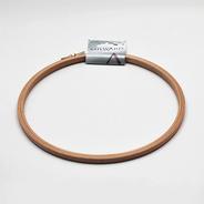 Kroužek na vyšívání prům. 22cm dřevo 1ks/karta