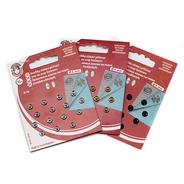 Knoflíky stiskací patentky KIN Ms prům. 6mm (v.2/0) 15ks/karta