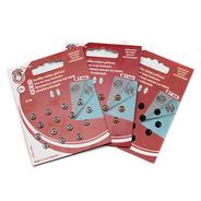 Knoflíky stiskací patentky KIN Ms prům. 7mm (v.0) 15ks/karta