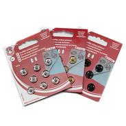 Knoflíky stiskací patentky KIN Ms prům. 11mm (v.3) 8ks/karta