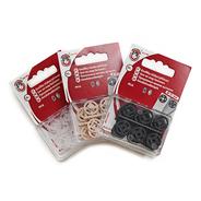 Knoflíky stiskací přišívací MIA plast prům. 13mm (v.5) 15ks ph.pl./karta