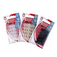 Knoflíky stiskací přišívací MIA plast prům. 10mm (v.3) 20ks ph.pl./karta