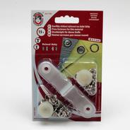 Knoflíky stiskací druky Roland Baby prům. 10mm (v.2) Ms 15ks/karta