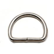 Sedlářské polokroužky svařované pr.35mm Fe