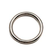 Sedlářské kroužky svařované pr.25mm Fe